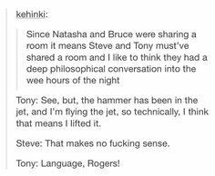 excuse the language