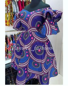 Style and fashion ideas meant for gals. Look and feel awesome in the in demand reasonably-priced street fashion. (Plus Size Womens Fashion Blazer). Short African Dresses, African Blouses, Latest African Fashion Dresses, African Print Dresses, African Print Fashion, Ankara Fashion, African Prints, Trendy Ankara Styles, African Attire