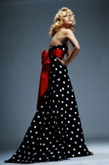 Jovani black/white dress $400