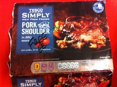 Pork shoulder in BBQ sauce, free on Slimming World