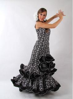 Flamenco dress orquidea