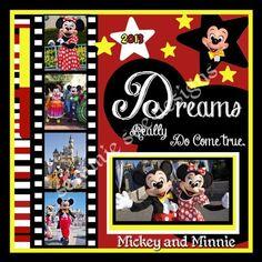 Disney Scrapbook by frieda Album Scrapbook, Vacation Scrapbook, Disney Scrapbook Pages, Scrapbook Sketches, Scrapbook Page Layouts, Scrapbook Paper Crafts, Scrapbooking Ideas, Scrapbook Photos, Scrapbook Background