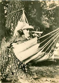 W. E. B. Du Bois at Camp Litchfield, Maine (1930s)