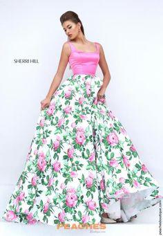 50462 - Pink/Ivory Print