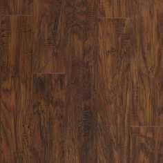 Pergo MAX 5.23-in W x 3.93-ft L Manor Hickory Handscraped Laminate Floor Wood Planks
