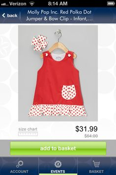 Molly pop on zulily