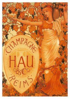 Champagne Hau Reims Posters AllPosters.fi-sivustossa