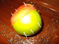 İki elmanın bir yarısı..
