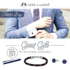 There's a little something for everyone...Shop the men's shop in my boutique for handsome finds just in time for Father's Day!!! Link in bio... #fathersday #fathersdaygifts #chloeandisabel #cufflinks #jewelry #boutique #summer #gifts #accessories #onlineshopping #fashion #vintageinspired #giftideas #giftsforhim #treatyourself #summerfashion #whatImwearing #gifting #summeressentials