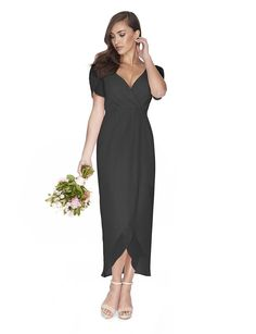2c4fc16565e9f Zara / Slate Grey / Sizes 6-22 / From $280 Grey Gown, Gray. Bridesmaids Only