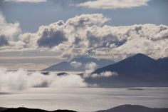Looking out from the viewpoint above the Bealach na Ba on the road to Applecross, one of our favourite spots