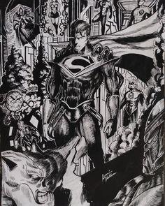 "Leandro Vitorino on Instagram: ""Superboy Prime vs Green Lantern Corps #greenlanterncorps #greenlantern #superboy #superboyprime #draw #dc #dccomics"" Superboy Prime, Green Lantern Corps, Dc Comics, Instagram"