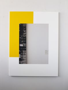 Ian Wallace, Abstract Composition (with Warhol), 2011