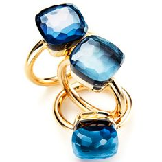 MarieClaire.com is organizing this wonderful contest and is giving away the chance to win a Pomellato Topaz ring worth $3,100!