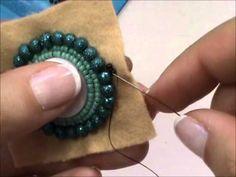 Tutorial Medaglione Etnico - Ciondolo all'embroidery con Twin Beads/Superduo e Perline rocailles