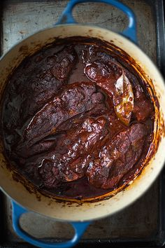 CS Pork Ribs: Ancho Chile Braised Country Style Pork Ribs from Slim ...