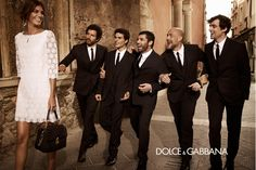 Dolce & Gabbana Fall/Winter 2013 Man campaign; Mariano Vivanco photography #modern #tailoring #suit