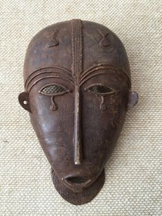African mask by GalerieHam on Etsy https://www.etsy.com/listing/231106637/african-mask