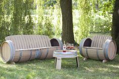 winebarrel sofa