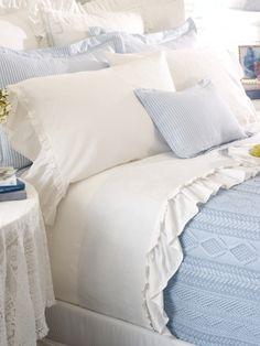 60% cotton 40% silk sheets by Ralph Lauren