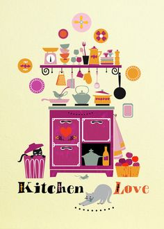 """Kitchen Love"" by Elisandra Sevenstar"