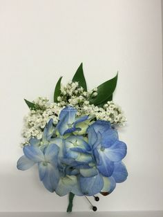 Hydrangea and Baby's Breath Bout