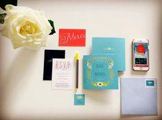 Faire parte mariage civil en France by Atelier Rosemood [Mariage Gladis et Matthieu]