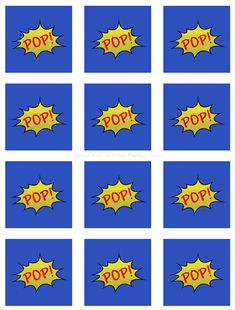 Free #Superhero Printables - Fun POP! stickers