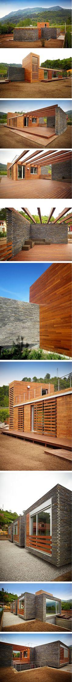 넓은 테라스와 효율적인 공간의 목조주택 - Daum 부동산 커뮤니티
