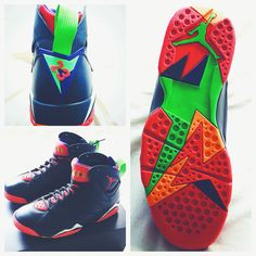 a97d54bd81b Air Jordan 7 Marvin the Martian 304775-029 (4)