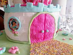 Bolo Castelo de Princesas