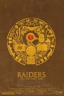 Minimalist Raiders Of The Lost Ark Poster