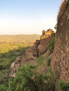 Ranthambore Fort in Sawai Madhopur, Rajasthan (UNESCO World Heritage Site)