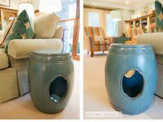 Rx Reveal: Harwood family room Room Rx  Garden stool