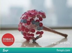 Bouquet of the buttons <click> see how to do it #diy