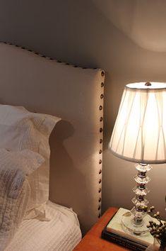 DIY Drop Cloth/Nailhead Trim Upholstered Headboard TutorialDIY Show Off ™ – DIY Decorating and Home Improvement Blog