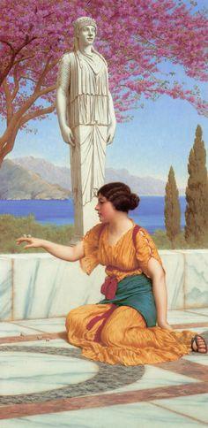 John William Godward: Ancient Pastimes