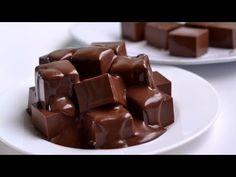 Lembut Lumer Di Mulut | Makanan Penutup Buat Pecinta Coklat |Puding Coklat Cube Dessert Tanpa Oven - YouTube Pudding Desserts, Sweet Cakes, Cuba, Candy, Chocolate, Food, Dessert Ideas, Youtube, Diet