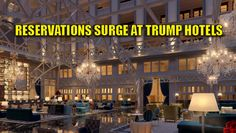 "It looks like President-elect Trump's HISTORIC WIN is great for his business! Donald Trump bested Hillary Clinton on election day (well the next day, actually) with the political ""comeback"" of our lifetime! Trump has seen a 20% increase in hotel bookings at some of his most prominent hotels. From Fox News: Bookings at Trump hotels in Washington, DC, and New York — which plunged during Donald Trump's presidential campaign — have spiked since his victory. The Trump International Hotel…"