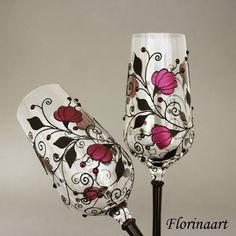 #gothic #gothicwedding #goblets #glasses #steampunk #wedding Etsy shop https://www.etsy.com/uk/listing/616253985/black-gothic-wedding-glasses-gothic-gift