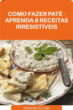 Tapas, Pasta, Crepes, Bread Recipes, Hummus, Food And Drink, Appetizers, Vegetarian, Favorite Recipes