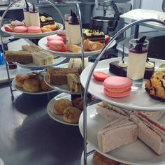 Afternoon Tea ready to go! Chef James has been working his magic in the Cowley kitchen. #countryside #cheltenham #cotswolds #afternoontea #beautiful #getinmybelly
