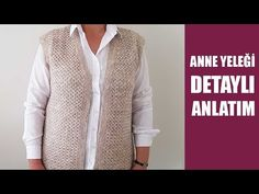 ANNE YELEĞİ KUŞ GÖZÜ ÖRGÜ MODELİ İLE DETAYLI ANLATIM - YouTube Fitness Tattoos, Knitting Videos, Homemade Beauty Products, Matching Couples, Crochet Fashion, Men Sweater, Sweaters, Templates, Sweater Vests