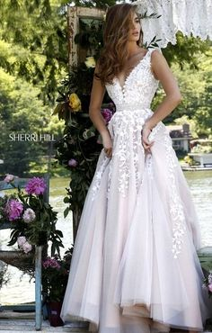 Sherri Hill Prom Dresses and 2020 Formal Gowns Dresses Elegant, Elegant Wedding Gowns, White Wedding Dresses, Bridal Dresses, Beautiful Dresses, Sexy Dresses, Formal Dresses, Party Dresses, Evening Dresses