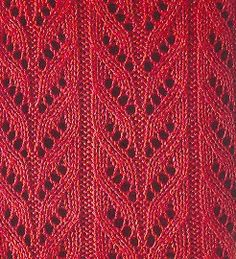 point tricot ajouré Knitting Stiches, Knitting Charts, Baby Knitting Patterns, Lace Knitting, Knitting Designs, Stitch Patterns, Crochet Patterns, Sweater Patterns, Crochet Home