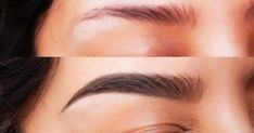 If you have thin and sparse eyebrows, here are some tips and remedies … - MakeUp Beauty Care, Beauty Skin, Hair Beauty, Beauty Makeup, Sparse Eyebrows, Thick Eyebrows, How To Close Pores, Beauty Secrets, Beauty Hacks