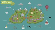 Globetrotter: Map Making Kit by Rowena Leanne