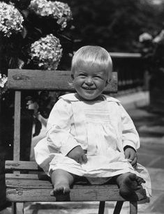 The best royal baby pictures:Prince Philip as a baby in 1922.