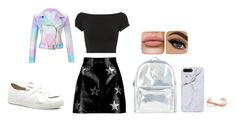 """bad unicorn power"" by auriana-arista-van-loon on Polyvore featuring mode, Helmut Lang, Boohoo en Accessorize"