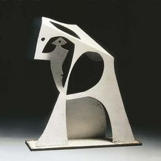 This sculpture shows form because form is something that is 3-D.